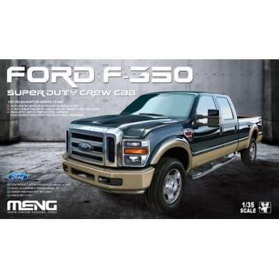 FORD F-350 SUPER DUTY CREW CAB - Meng Model VS006