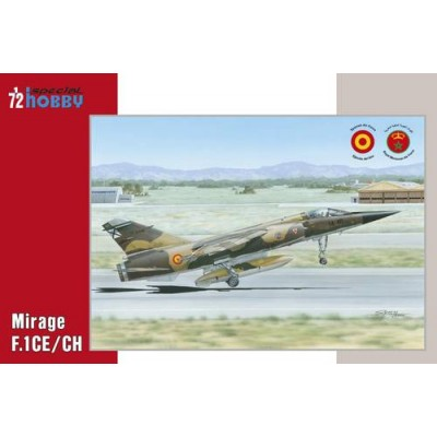 DASSAULT MIRAGE F.1 CE/CH (España) -Escala 1/72- Special Hobby 72289