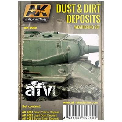 AFV series: DUST & DIRT DEPOSITS (3 botes)
