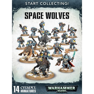 START COLLECTING SPACE WOLF
