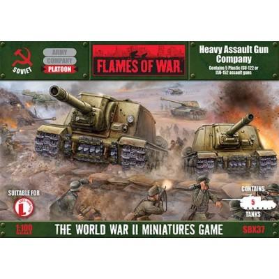 COMPAÑINA DE CAÑONES DE ASALTO (5 unidades) Flames of War SBX37