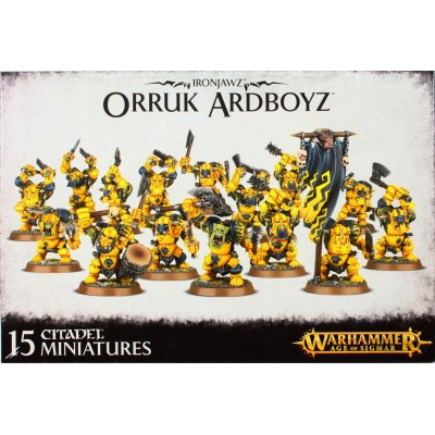 IRONJAWZ ORRUK ARDBOYZ (15 MINIATURAS) GAMES WORKSHOP 89-21