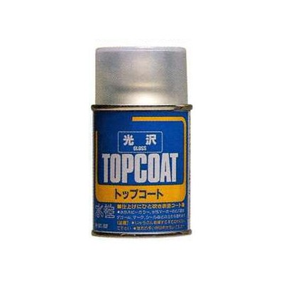 SPRAY TOPCOAT BARNIZ BRILLO (88 ml) MR HOBBY B501