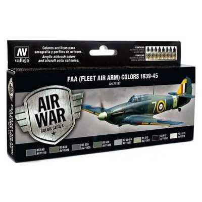 AIR WAR: F.A.A. COLORS (Flet Air Arm) 1939 - 45 (8 colores)