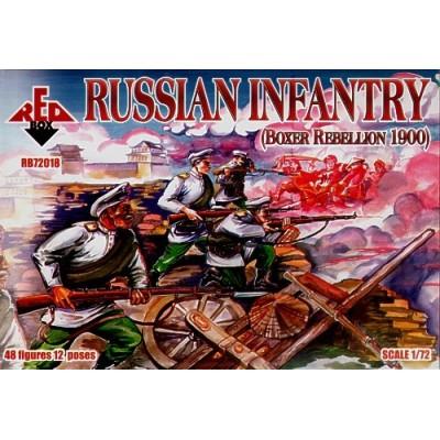 Rebelion Boxer: INFANTERIA RUSA - Red Box 72018