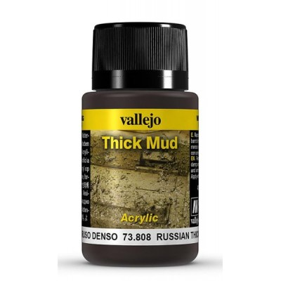 Weathering Effects: TEXTURA BARRO RUSO 40 ml - VALLEJO 73808