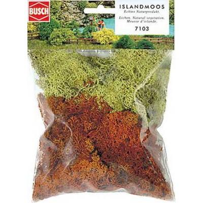 MUSGO COLORES TOSTADOS (35 gr) - BUSCH 7103