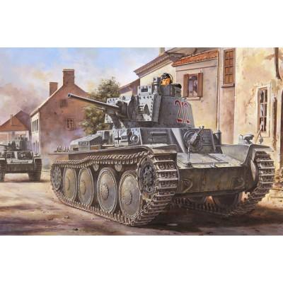 CARRO DE COMBATE PANZER 38 (t) Ausf. B - Hobby Boss 80141