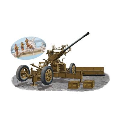 CAÑON ANTI AEREO OQF BOFORS 40 mm MK-I / III BRITANICO Y SERVIDORES - BRONCO MODELS CB35911SP