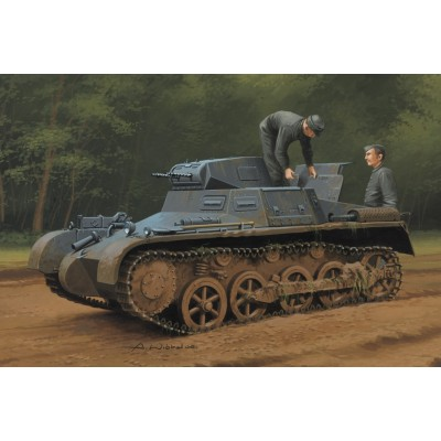 CARRO DE COMBATE Sd. Kfz. 101 PANZER I Ausf. A (Early / Late) - Hobby Boss 80145
