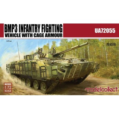 VEHICULO DE COMBATE DE INFANTERIA BMP-3 (Cage armour) - Modelcollect UA72055