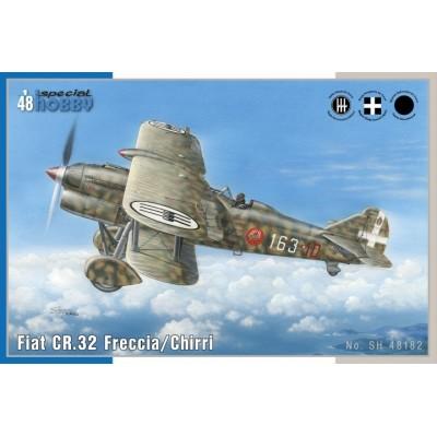 FIAT CR.42 CHIRRI C/ESP - escala 1/48 - Special Hobby SH48182