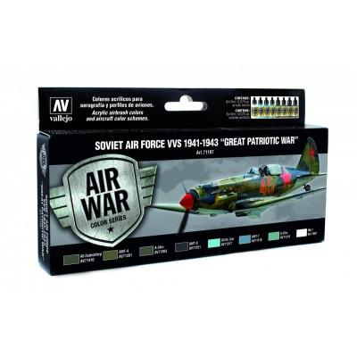 AIR WAR: Soviet Air Force VVS 1941-1943 - Great Patriotic War - Vallejo 71197