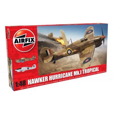 HAWKER HURRICANE MK-I Trop - AIRFIX A05129