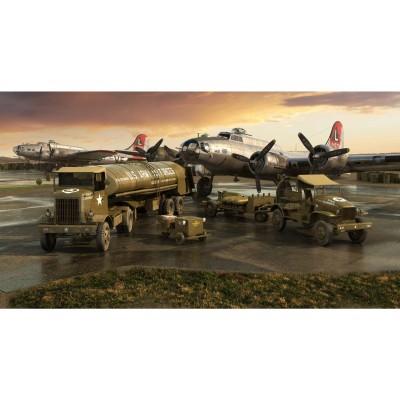 SET DE REAPROVISIONAMIENTO TIERRA USAAF - Airfix A06304