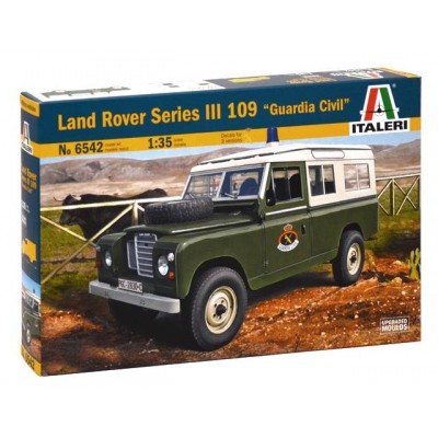 LAND ROVER III Serie 109 -Guardia Civil- 1/35 - ITALERI 6542 -