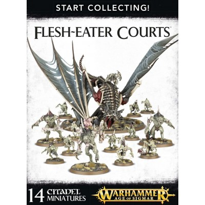 START COLLECTING FLESH-EATER COURTS - Games Workshop 70-95