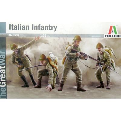INFANTERIA ITALIANA -1ª Guerra Mundial- Italeri 6532