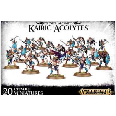 TZEENTCH ARCANITES KAIRIC ACOLYTES - GAMES WORKSHOP 83-73