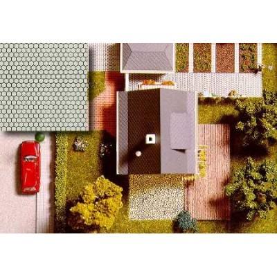 CARTULINA PAVIMENTO EXAGONAL (210 x 148 mm) 2 unidades