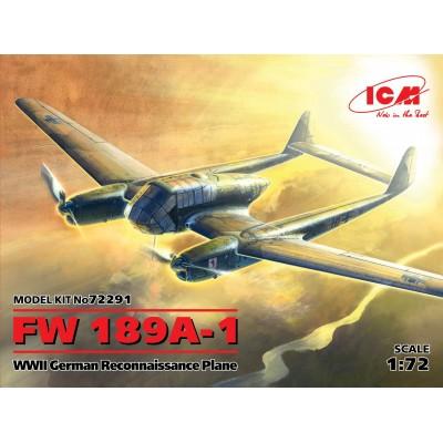 FOCKE WULF Fw-189 A-1 - ICM 72291