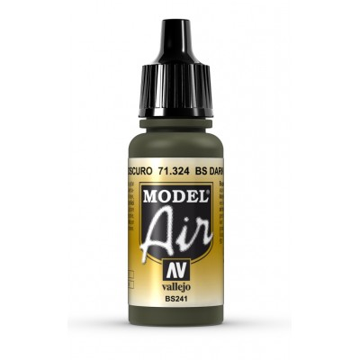 PINTURA ACRILICA DARK GREEN BS (17 ml)