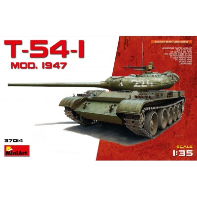 CARRO DE COMBATE T-54-1 Mod. 1947 - MiniArt Model 37014