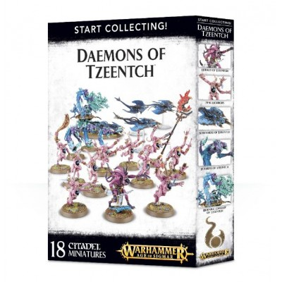 START COLLECTING : DAEMONS OF TZEENTCH - GAMES WORKSHOP 70-84