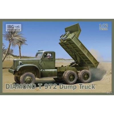 CAMION VOLQUETE DIAMOND T 972 - IBG 72021