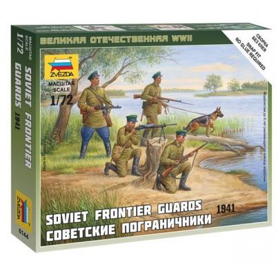 GUARDIAS DE FRONTERAS SOVIETICOS - Zvezda 6144