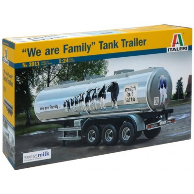 TRAILER CUBA -We are Family- Italeri 3911