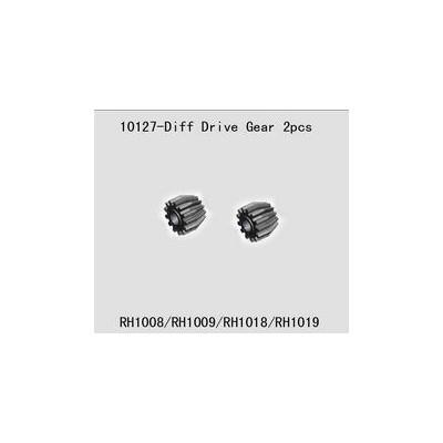 PIÑONES PRINCIPALES DIFERENCIAL (2 unidades) - River Hobby 10127