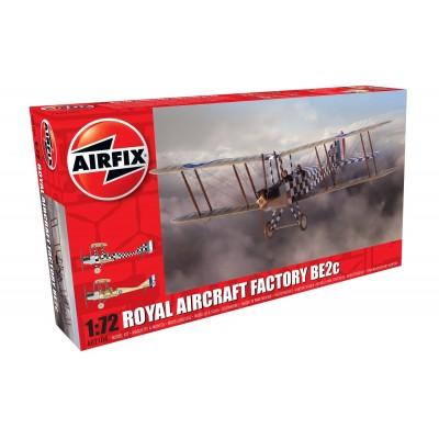 ROYAL AIRCRAFT FACTORY BE2c -1/72- Airfix A02104