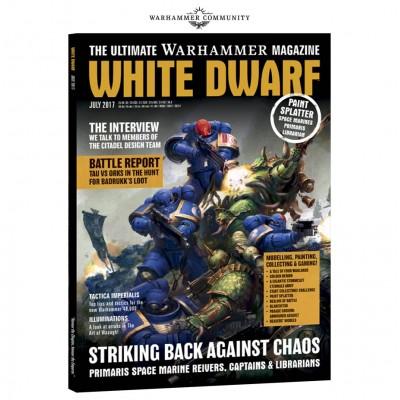 WHITE DWARF JULIO (INGLES)