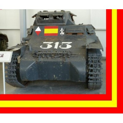 CARRO DE COMBATE PANZER I nº1 (ESPAÑA)