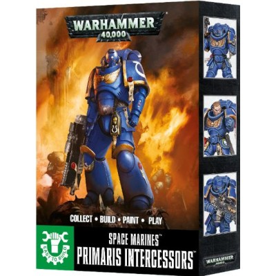 SPACE MARINES PRIMARIS REIVERS EASY TO BUILD - GAMES WORKSHOP 48-66