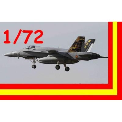 McDONNELL DOUGLAS EF/A-18 A HORNET (ALA 46) 50º Aniversario Gando 1/72