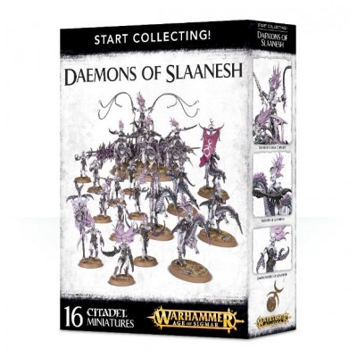 START COLLECTING DAEMONS OF SLAANESH - GAMES WORKSHOP 70-73
