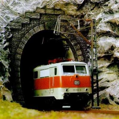BOCA DE TUNEL SENCILLA (2 unidades) - BUSCH 7024