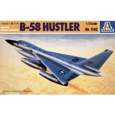 CONVAIR B-58 HUSTLER -1/72- Italeri 1142